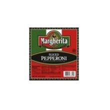 Sliced Margherita Pepperoni
