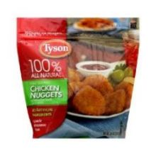 Tyson Nugget Shaped Breaded Chicken Patties 13.25 Ounce