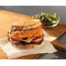Crispanko Square Raw Breaded Portion Pollock Sandwich 10 Pound