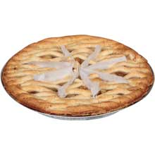 Chef Pierre Pre Sliced Apple Lattice Pie 34 Ounce