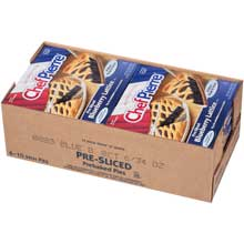 Chef Pierre Pre Sliced Blueberry Lattice Pie 34 Ounce