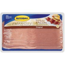 Butterball Original Everyday Turkey Bacon 6 Pound