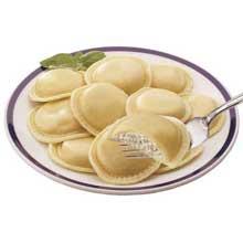 San Rallo Precooked Jumbo Round Cheese Ravioli