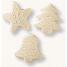 Christmas Theme Shaped Cookie Dough