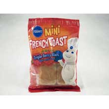 Pillsbury Triple Berry Burst Mini French Toast Mfg 37308