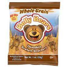 Whole Grain Belly Bears Chocolate Graham