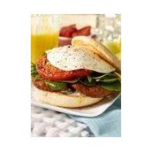 Prefried Turkey Bacon Breakfast Meat