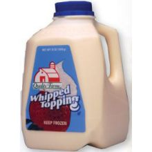 Ready to Use Whipped Topping Jug