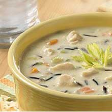 Meat and Poultry Wild Rice Soup