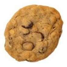 Oatmeal Cranberry Orange Cookie Dough