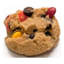 M and M Chocolate Chip Cookie Dough
