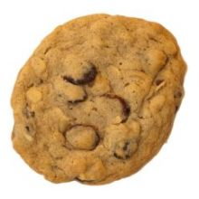 Cranberry Orange Oatmeal Cookie Dough