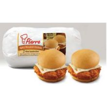 Pierre Mini Twin Spicy Breaded Chicken Sandwich with Cheese