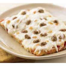 Whole Grain Par Baked Cheese Pizza