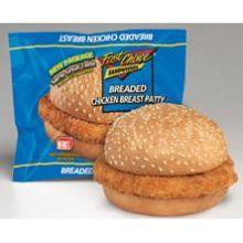 Fast Choice Breaded Chicken Breast Sandwich