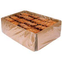 RIB B Q Boneless Pork Rib Patty with Built In Barbecue Sauce 2.4 Ounce