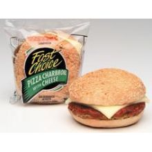 Fast Choice Pizza Charbroil Burger with Cheese