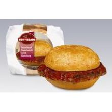 Hot N Ready Meatloaf Sandwich with Ketchup