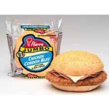 Pierre Jumbo Chicken Cordon Bleu Sandwich