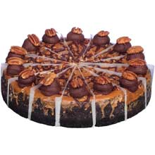 Bistro Collection Round Flavored Collection Cheesecake - Variety Pack 10 inch