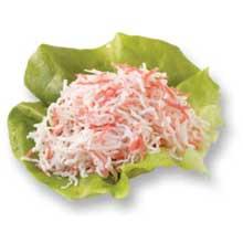 Surimi Imitation Crabmeat Extreme Shreded Cooked