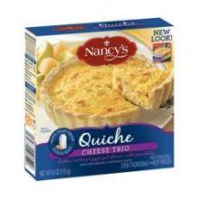 Cheese Trio Quiche