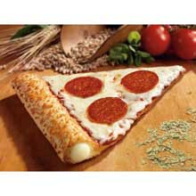 The Max Turkey Pepperoni Plus Stuffed Crust Whole Grain Rich Pizza