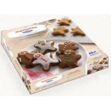 Gingerbread Men Shape Cookie Dough
