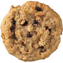Oatmeal Raisin Gourmet Reduced Fat Cookie Dough