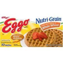 Eggo Nutrigrain Whole Wheat Waffle