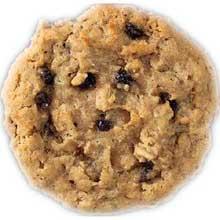 Oatmeal Raisin Reduced Fat Cookie Dough
