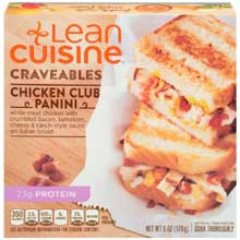 Lean Cuisine Chicken Club Panini