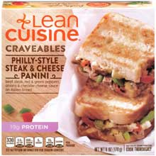 Lean Cuisine Philly Style Steak and Cheese Panini
