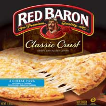 Red Baron Four Cheese Classic Crust Pizza