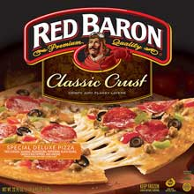 Red Baron Special Deluxe Classic Crust Pizza