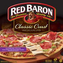 Red Baron Supreme Classic Crust Pizza