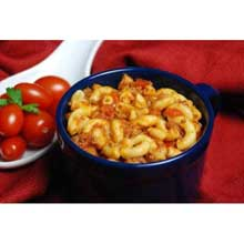 Macaroni with Beef and Tomatoes