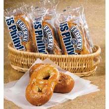 Traditional soft pretzels