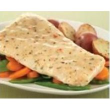 Creamy Lemon Herb Glazed Pollock Portion