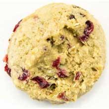 Oatmeal Cranberry Walnut Cookie Dough
