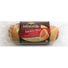 Smoked Bratwurst in Soft Baked Roll