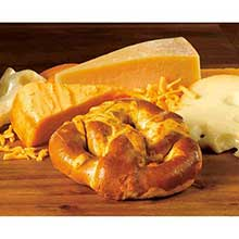 Grilled Cheese Soft Stuffed Pretzel