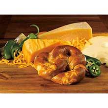 Grilled Jalapeno Stuffed Pretzels