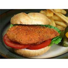 Breaded Chicken Breast Fillet with Rib Meat