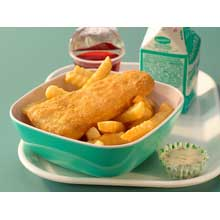 Oven Ready Battered Pollock Wedge