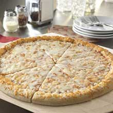 Bold Whole Grain Cheese Pizza