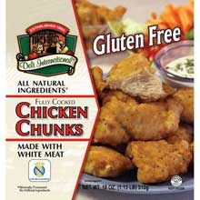 Gluten Free Chicken Chunks