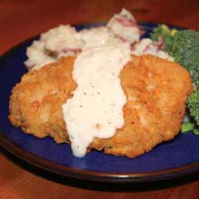 Fully Cooked Breaded Pork Loin Patties