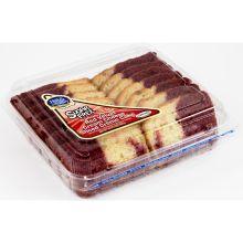 Sugar Free Red Velvet Cream Cheese Sliced Creme Cake