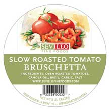 Classic Slow Roasted Diced Bruschetta Tomato